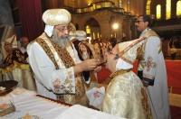 Ordination of Abouna Kyrillos, Elevation of Abouna Ishak
