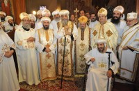 Ordination of Abouna Kyrillos, Elevation of Abouna Ishak